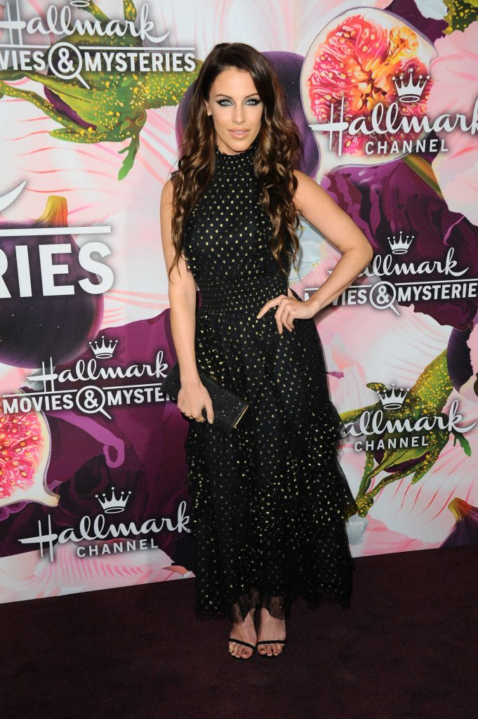 Jessica Lowndes at the Hallmark Channel All-Star Party During the TCA Winter Press Tour in Los Angeles-3