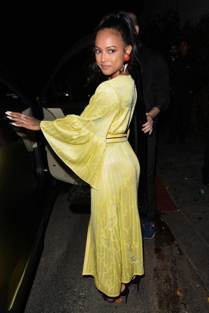 Karrueche Tran Attends W Magazine's Best Performances Party in LA-2