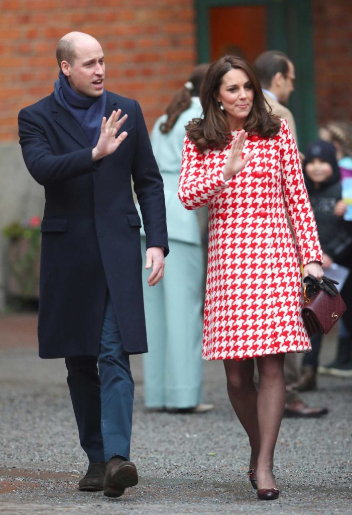 Kate Middleton Visits Matteusskolan School in Stockholm-4