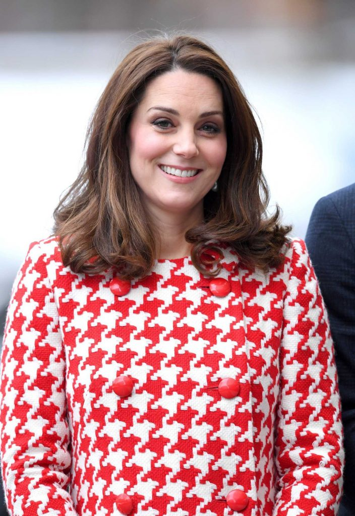 Kate Middleton Visits Matteusskolan School in Stockholm-5