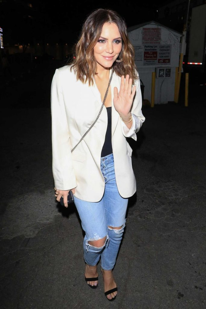 Katharine McPhee Night Out at Avalon in Los Angeles-3