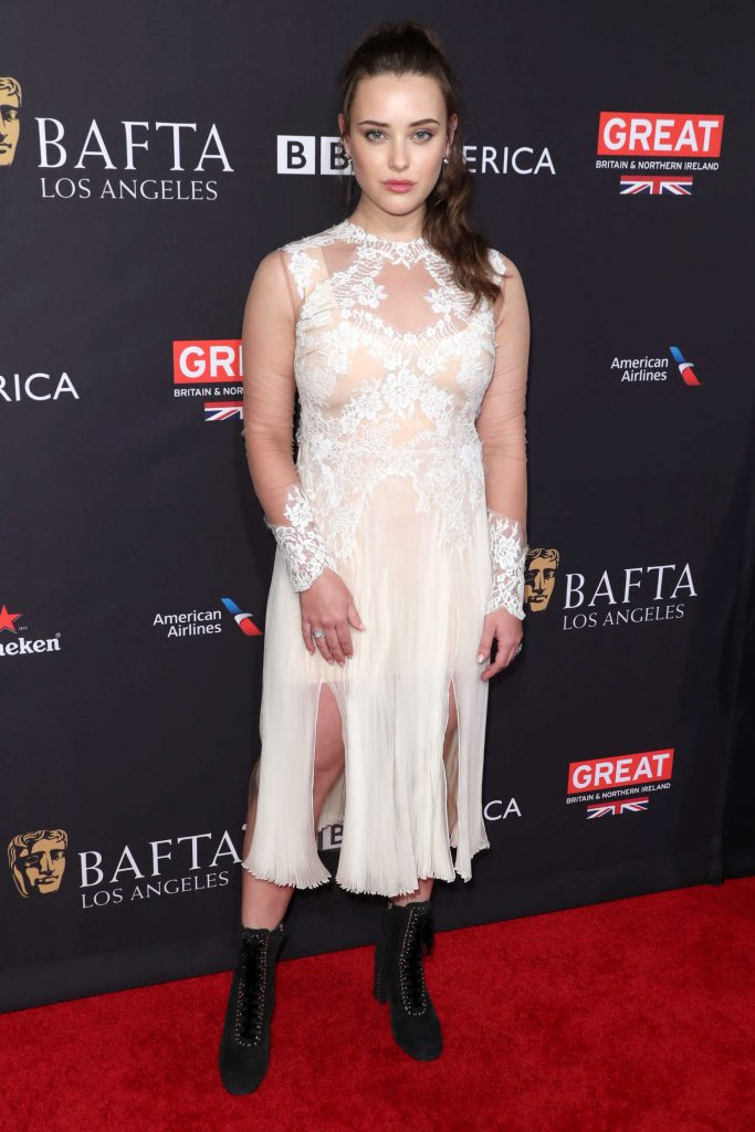 Katherine Langford at the BAFTA Los Angeles Tea Party in Los Angeles-1