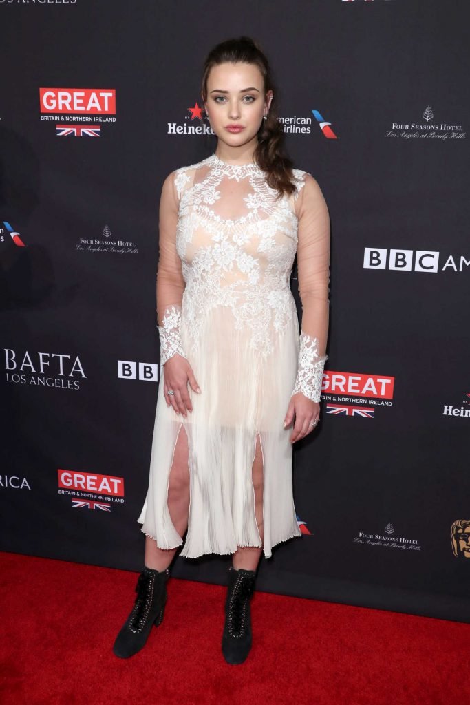 Katherine Langford at the BAFTA Los Angeles Tea Party in Los Angeles-2