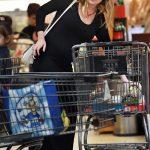Kirsten Dunst Shops for Groceries with Jesse Plemons in LA