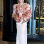 Lady Gaga Night Out in Milan