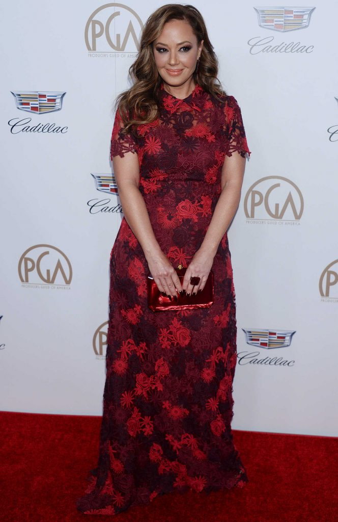 Leah Remini Attends the 29th Annual Producers Guild Awards in Beverly Hills-1