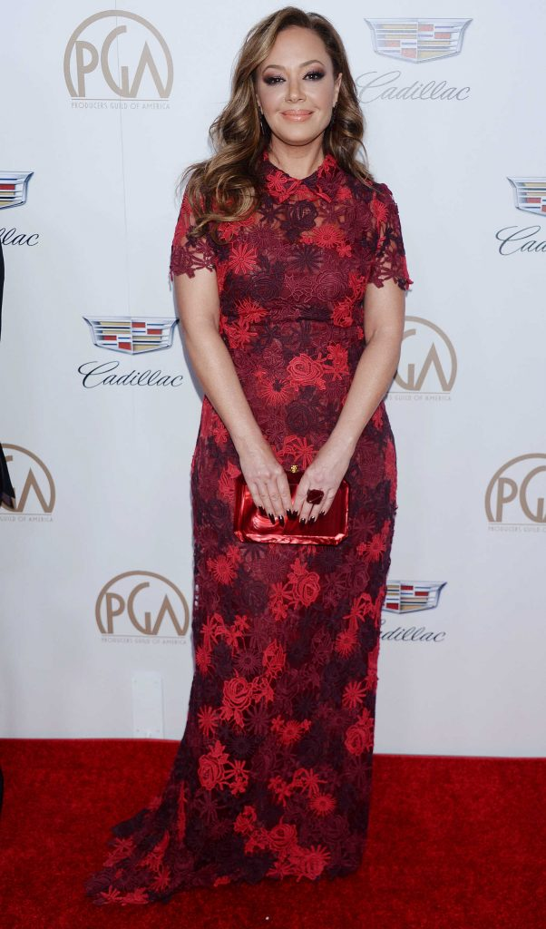 Leah Remini Attends the 29th Annual Producers Guild Awards in Beverly Hills-2