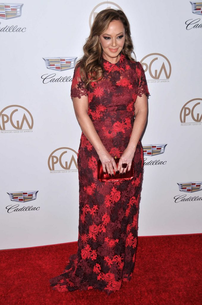 Leah Remini Attends the 29th Annual Producers Guild Awards in Beverly Hills-3
