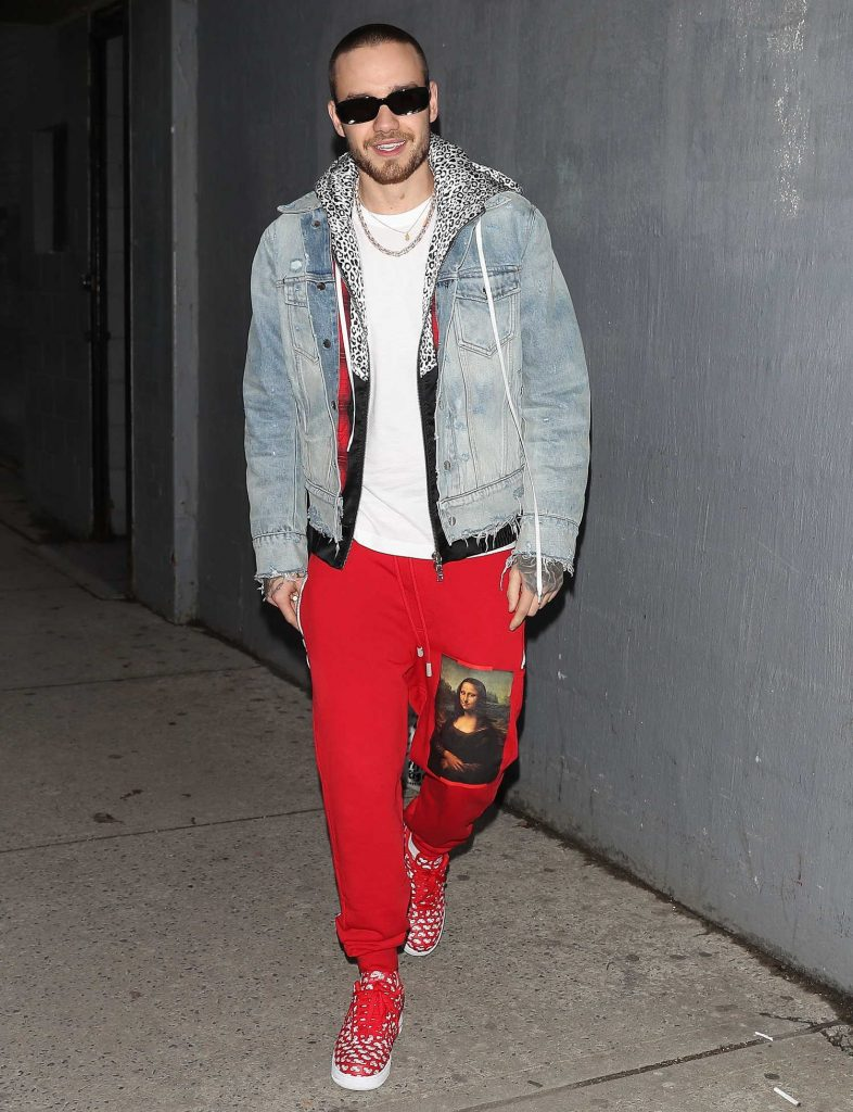 Liam Payne Leaves SIR Studios in New York City-1