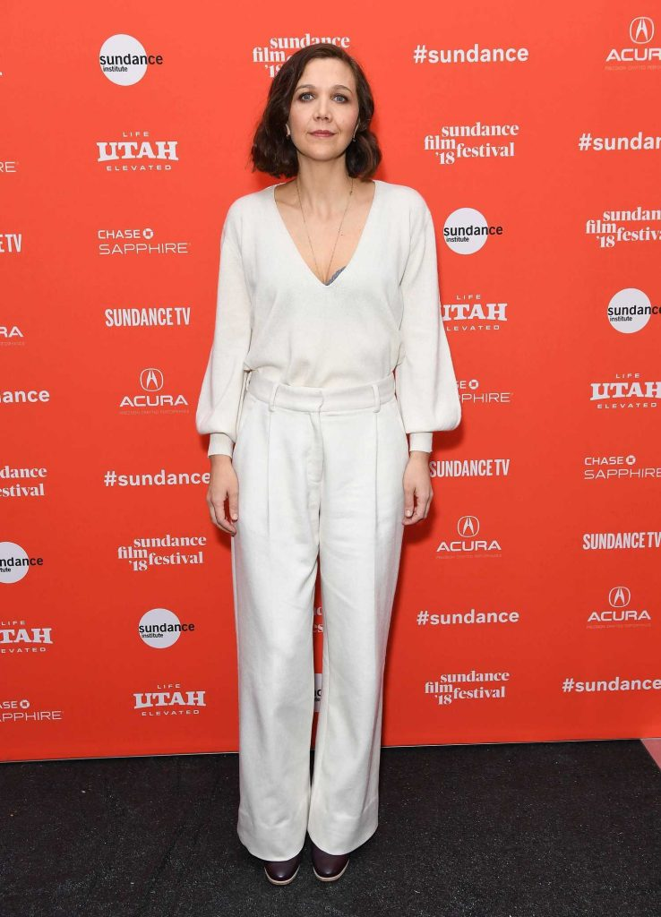 Maggie Gyllenhaal at Un Traductor Premiere During 2018 Sundance Film Festival in Park City-1