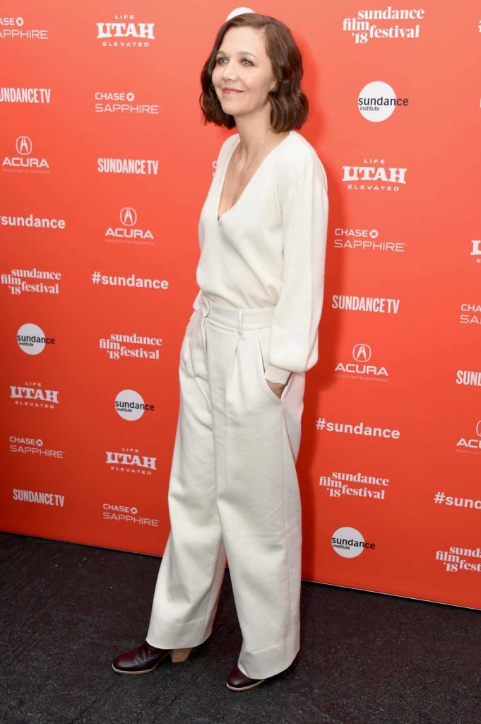Maggie Gyllenhaal at Un Traductor Premiere During 2018 Sundance Film Festival in Park City-3