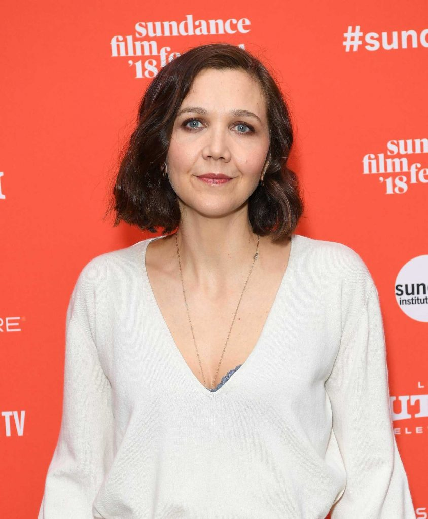 Maggie Gyllenhaal at Un Traductor Premiere During 2018 Sundance Film Festival in Park City-5