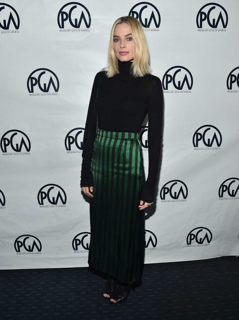 Margot Robbie Attends the 29th Annual Producers Guild Awards in Beverly Hills-1