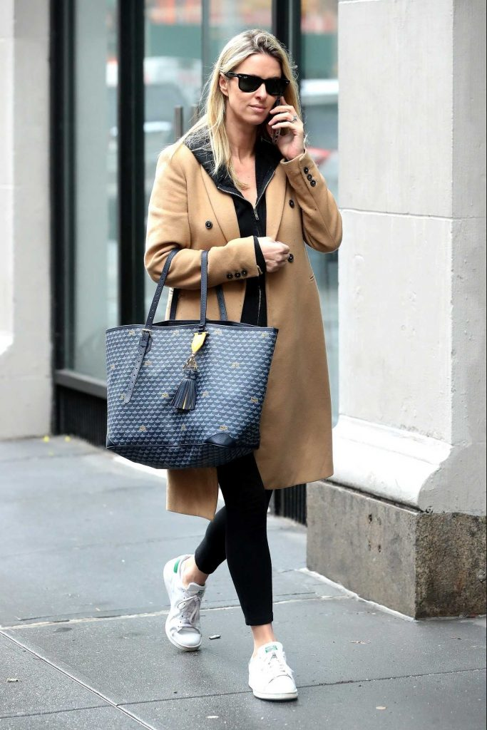 Nicky Hilton Chats on Her Phone in New York City-1