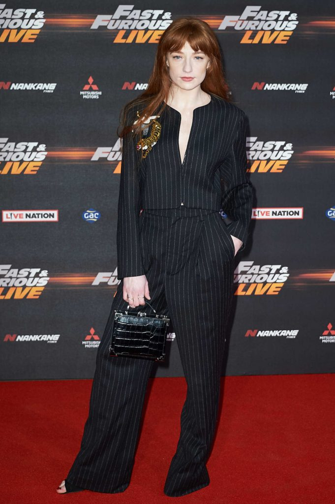 Nicola Roberts at the Fast and Furious Live Premiere in London-1