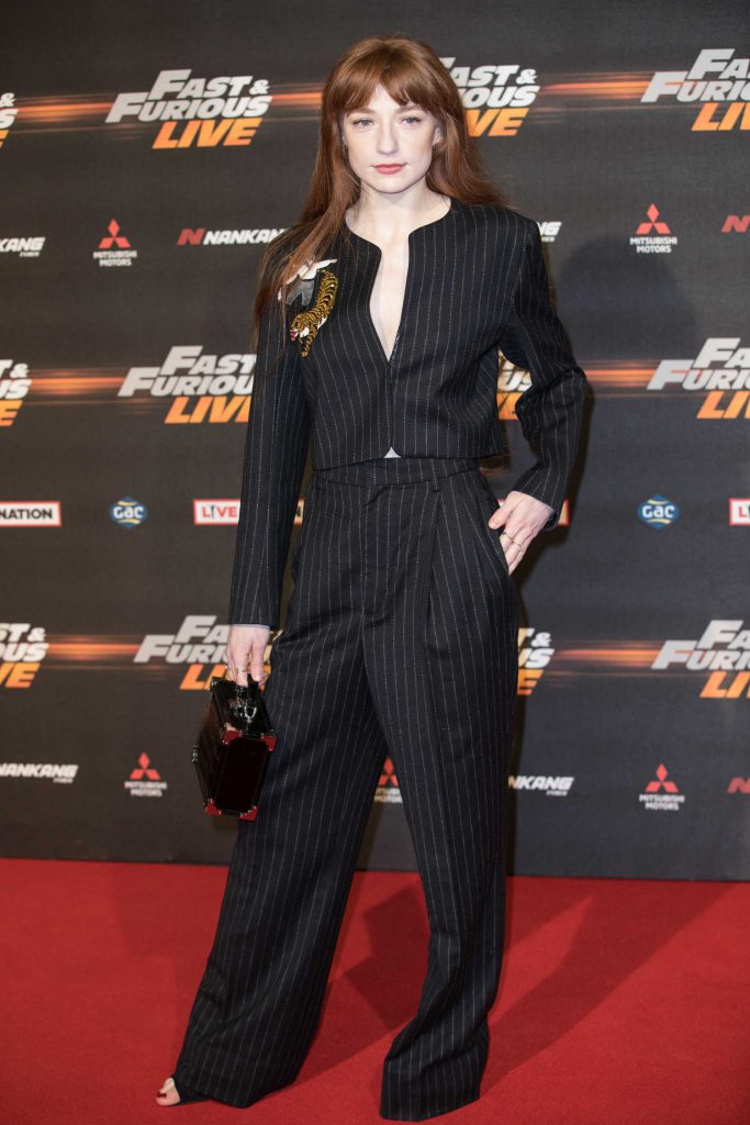 Nicola Roberts at the Fast and Furious Live Premiere in London-4