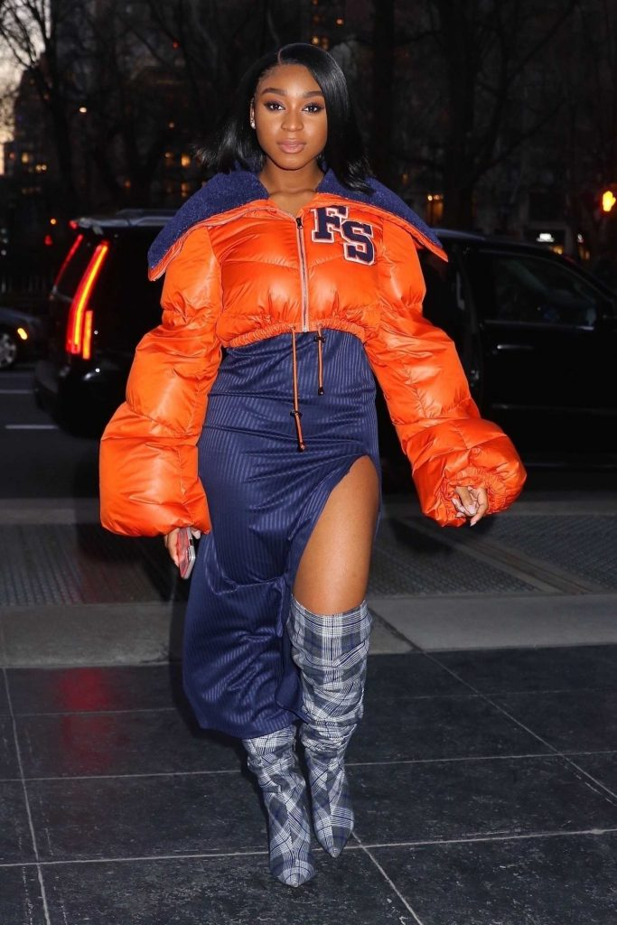 Normani Kordei Arrives to the Sony Building in NYC-1
