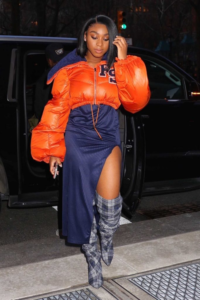 Normani Kordei Arrives to the Sony Building in NYC-2