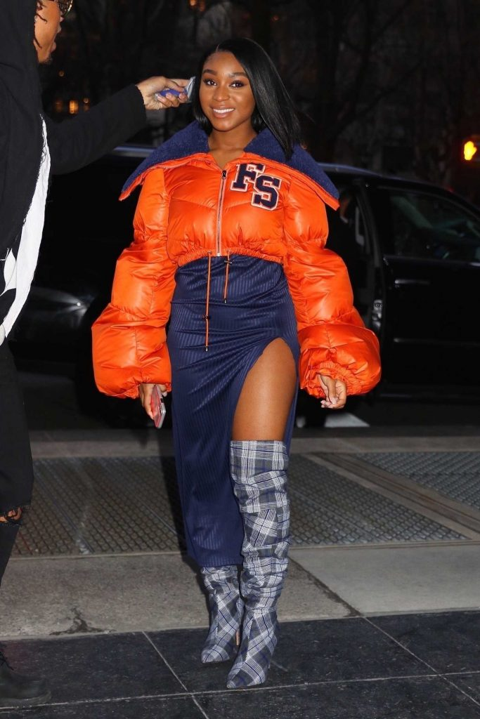 Normani Kordei Arrives to the Sony Building in NYC-4
