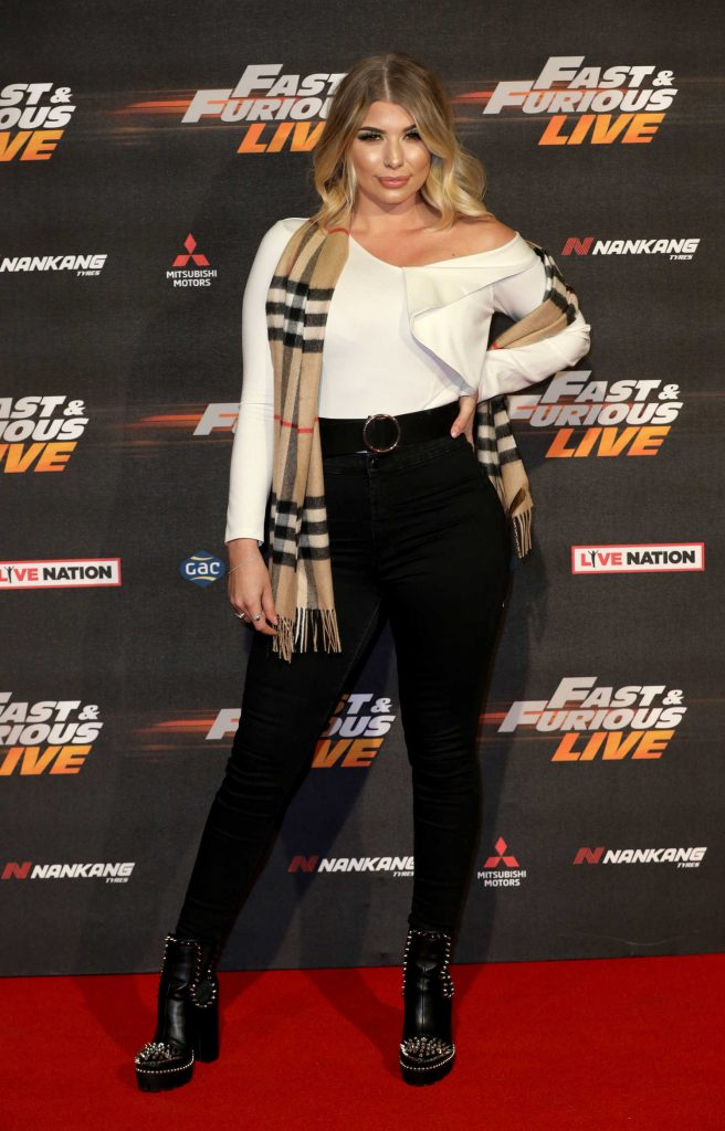Olivia Buckland at the Fast and Furious Live Premiere in London-1