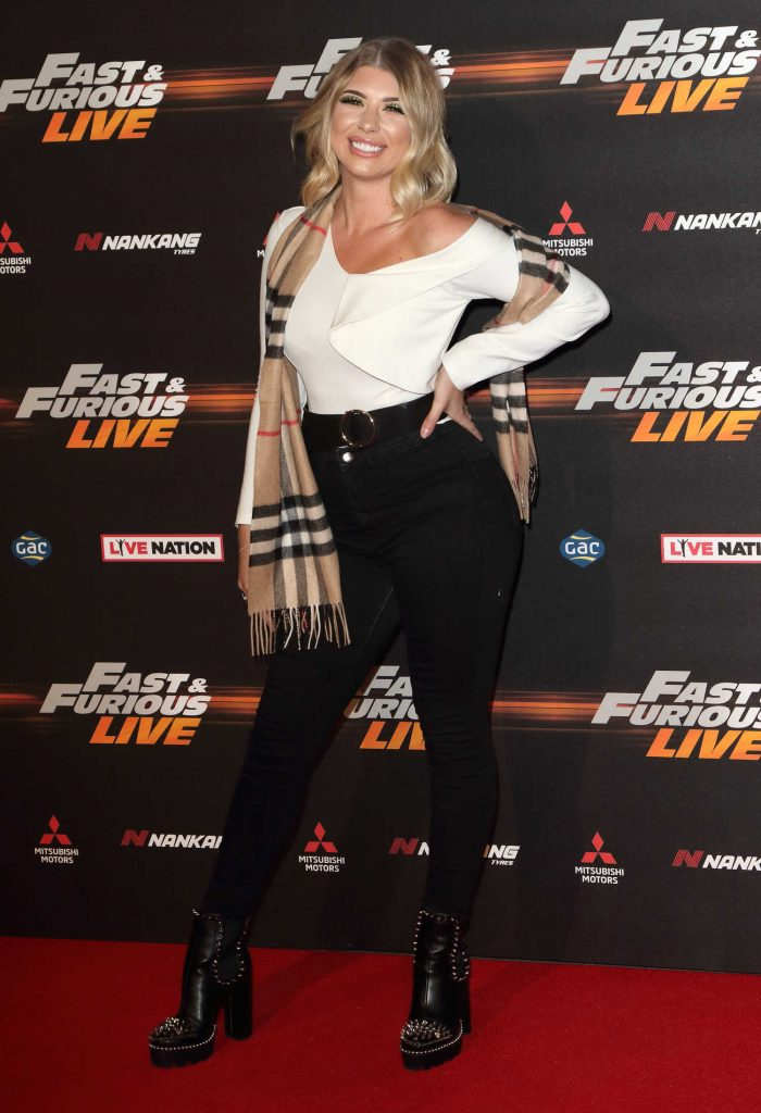 Olivia Buckland at the Fast and Furious Live Premiere in London-2
