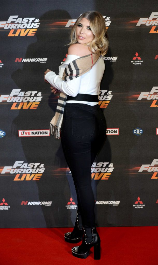 Olivia Buckland at the Fast and Furious Live Premiere in London-3