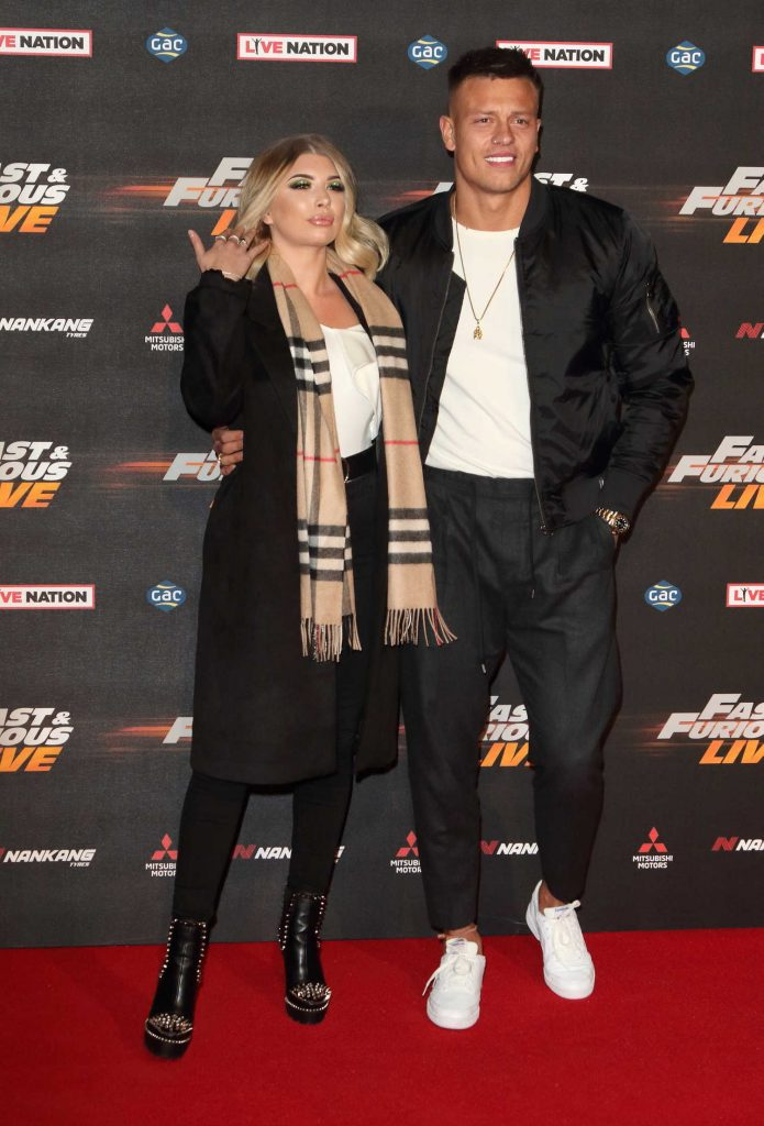 Olivia Buckland at the Fast and Furious Live Premiere in London-4