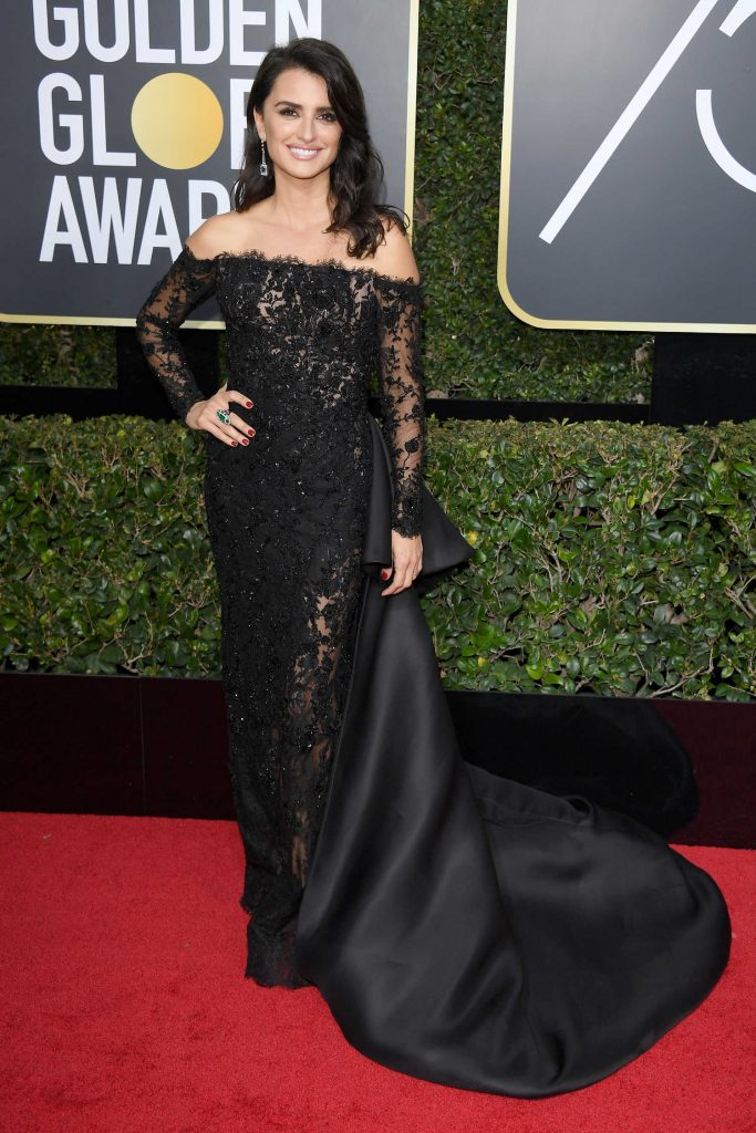 Penelope Cruz at the 75th Annual Golden Globe Awards in Beverly Hills-1