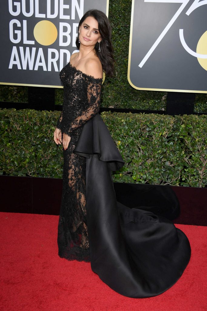Penelope Cruz at the 75th Annual Golden Globe Awards in Beverly Hills-2