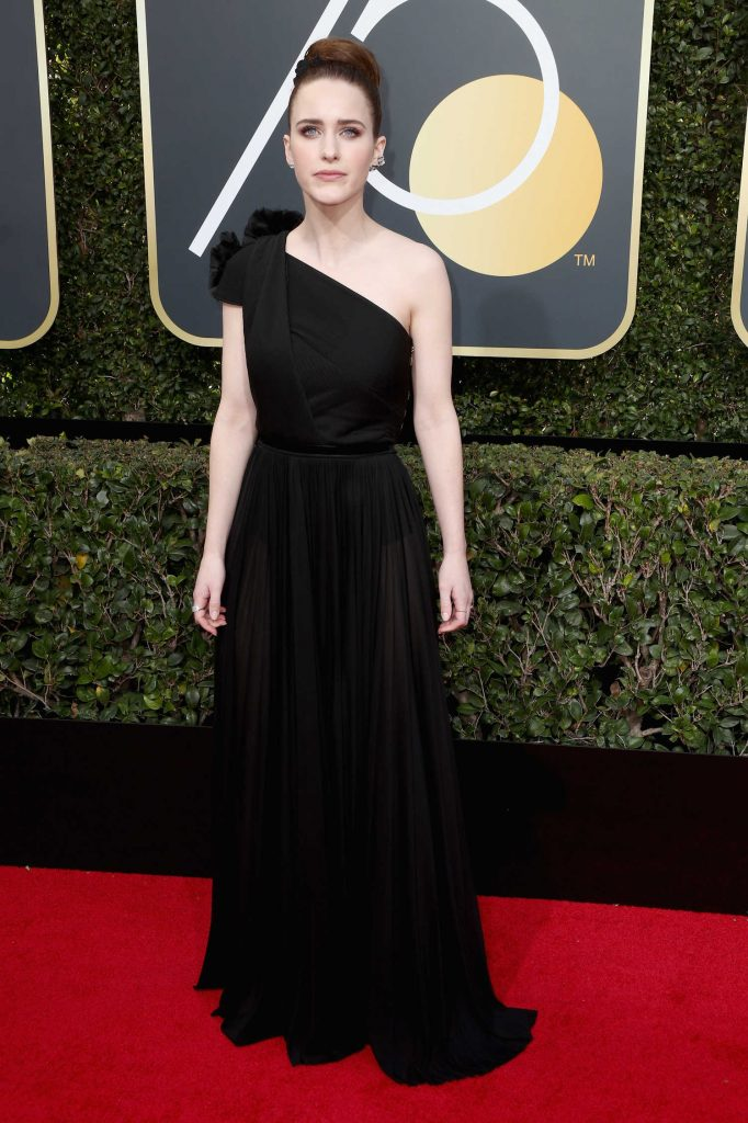 Rachel Brosnahan at the 75th Annual Golden Globe Awards in Beverly Hills-1