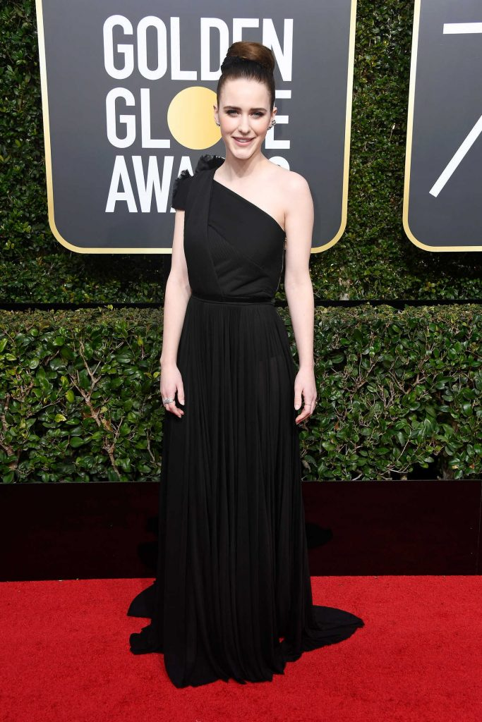 Rachel Brosnahan at the 75th Annual Golden Globe Awards in Beverly Hills-2