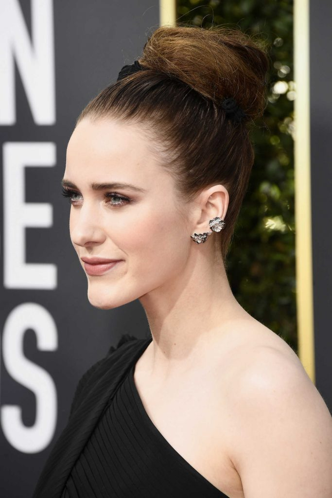Rachel Brosnahan at the 75th Annual Golden Globe Awards in Beverly Hills-4