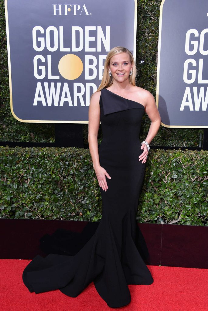 Reese Witherspoon at the 75th Annual Golden Globe Awards in Beverly Hills-1