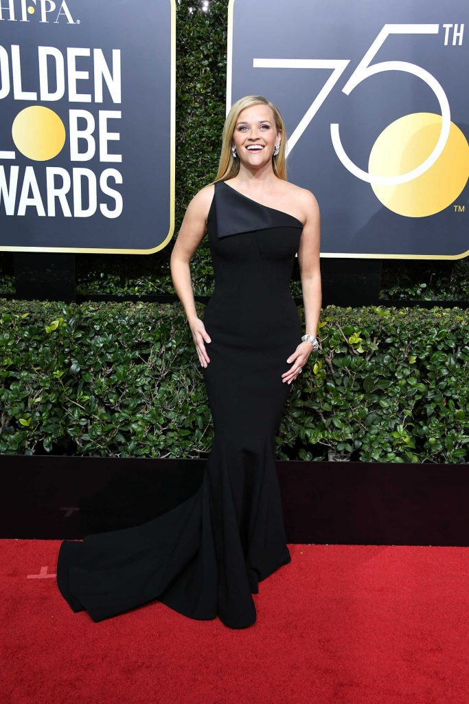 Reese Witherspoon at the 75th Annual Golden Globe Awards in Beverly Hills-2