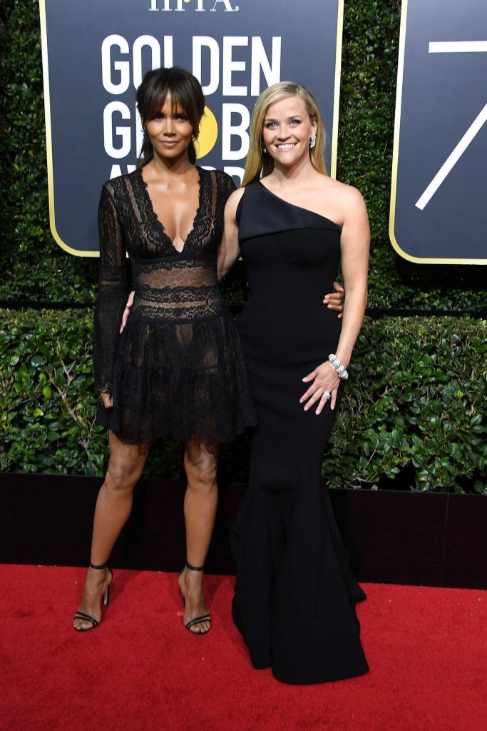 Reese Witherspoon at the 75th Annual Golden Globe Awards in Beverly Hills-3