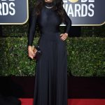 Salma Hayek at the 75th Annual Golden Globe Awards in Beverly Hills