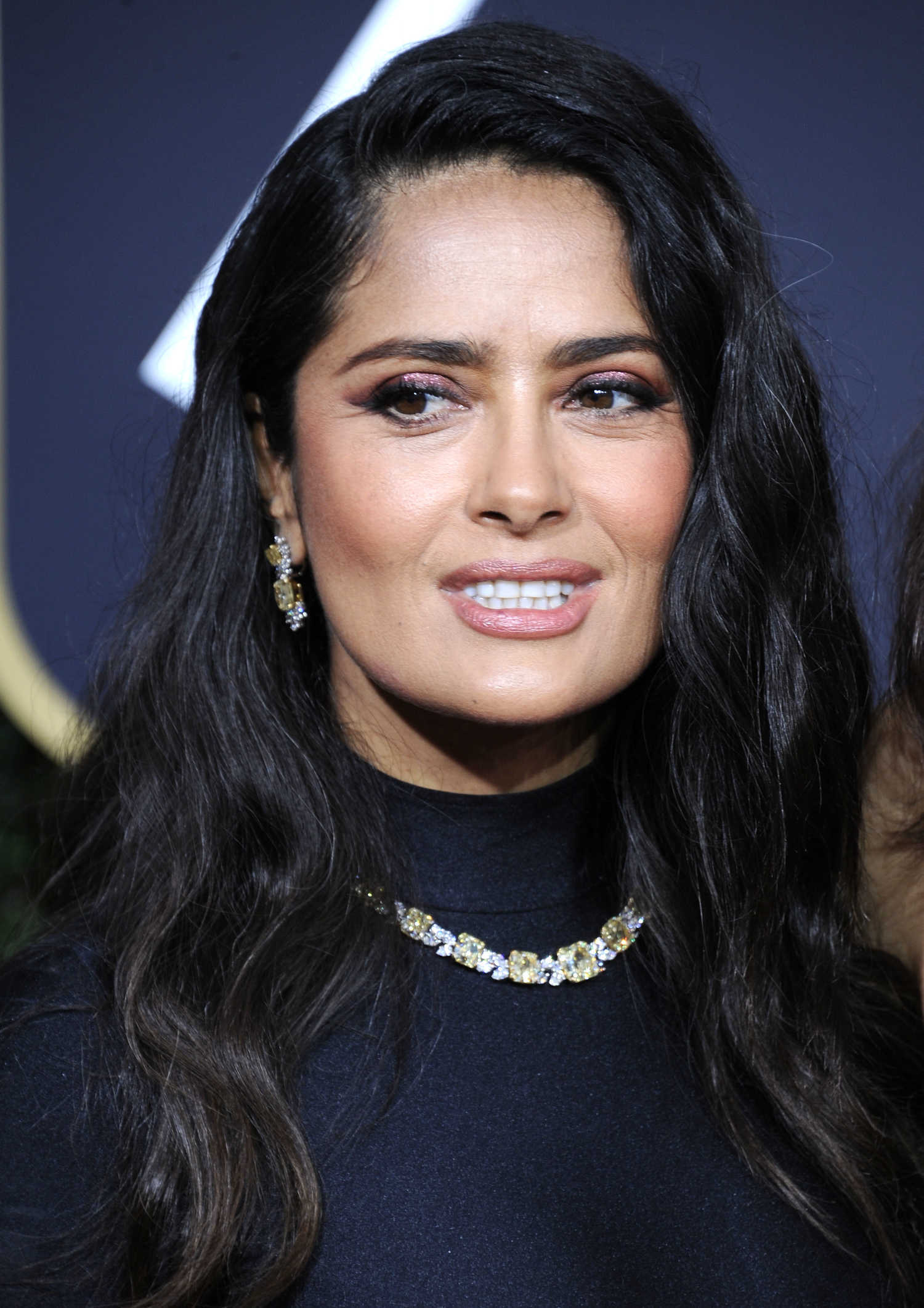 Salma Hayek Attends the 21st Annual Warner Bros and