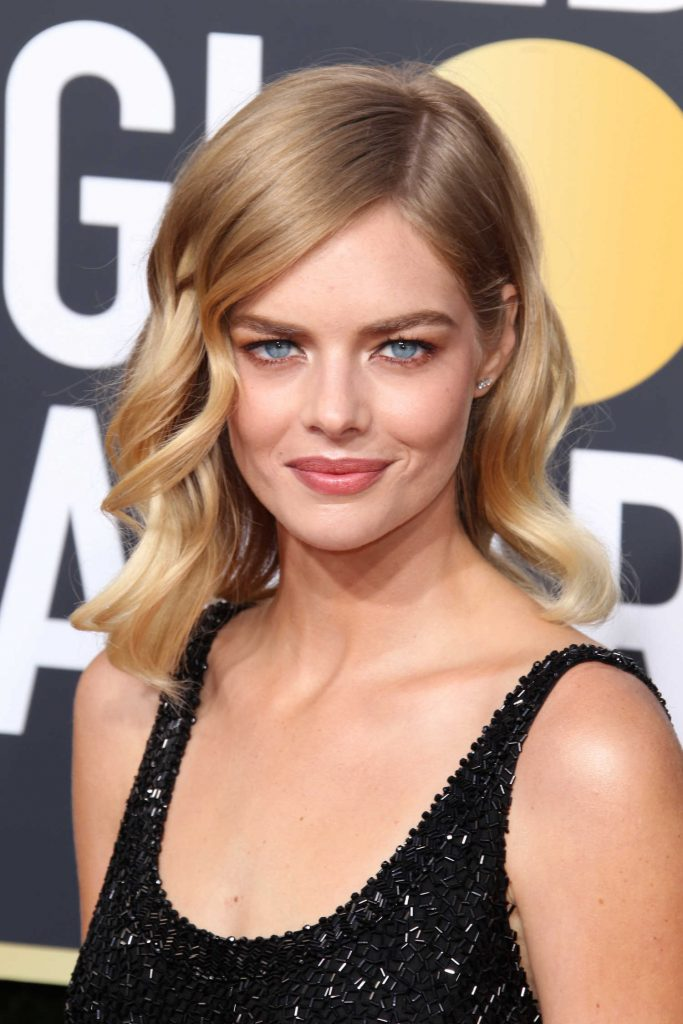 Samara Weaving at the 75th Annual Golden Globe Awards in Beverly Hills-4