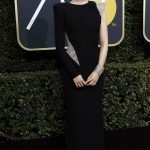 Saoirse Ronan at the 75th Annual Golden Globe Awards in Beverly Hills