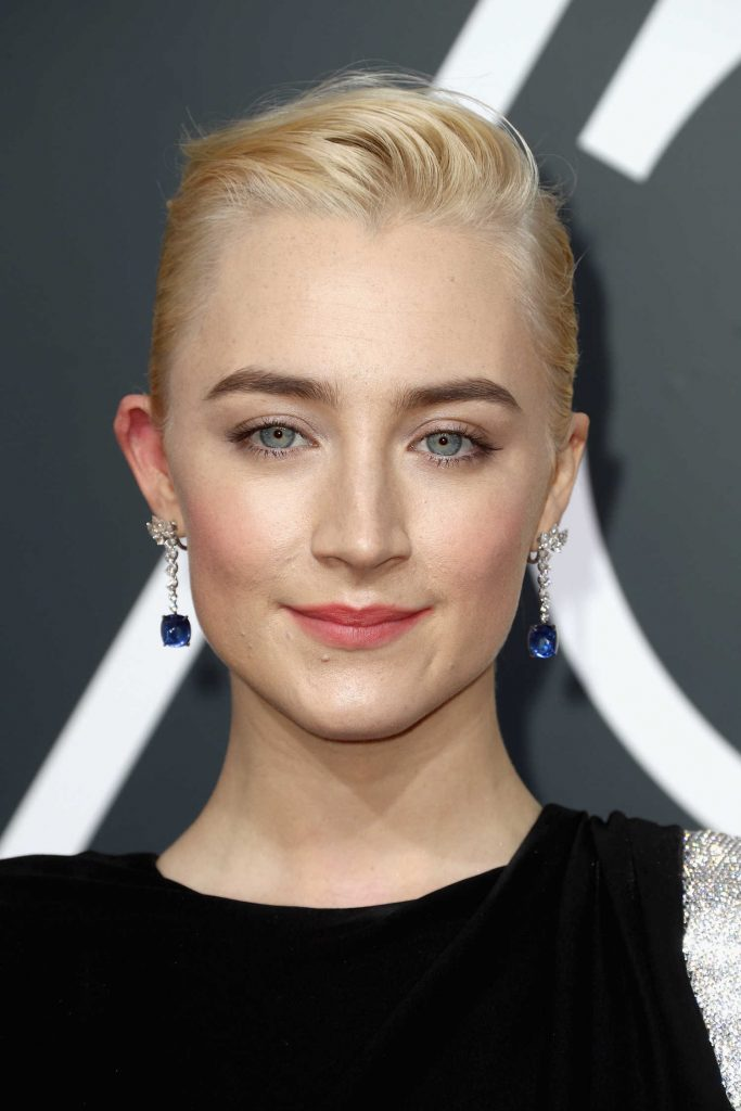 Saoirse Ronan at the 75th Annual Golden Globe Awards in Beverly Hills-5