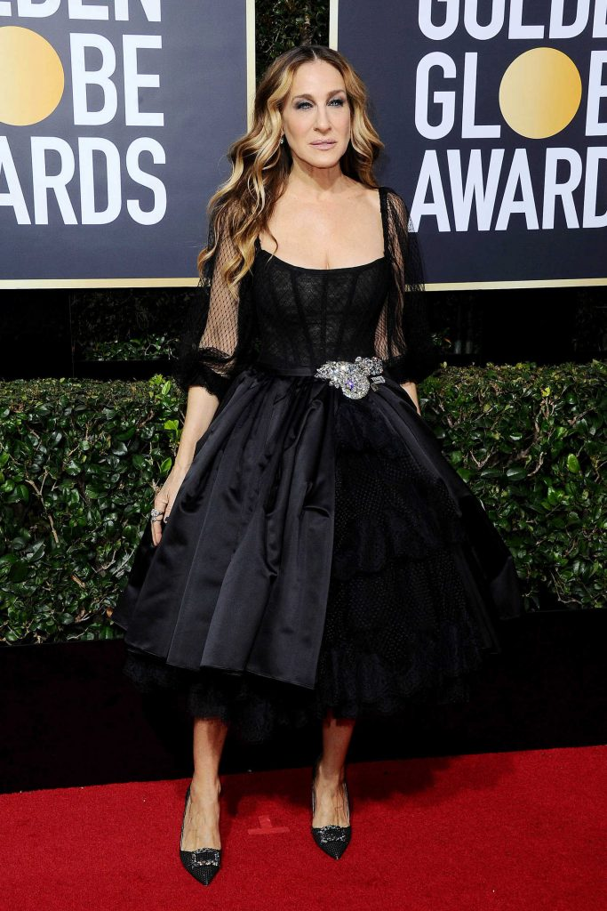 Sarah Jessica Parker at the 75th Annual Golden Globe Awards in Beverly Hills-1