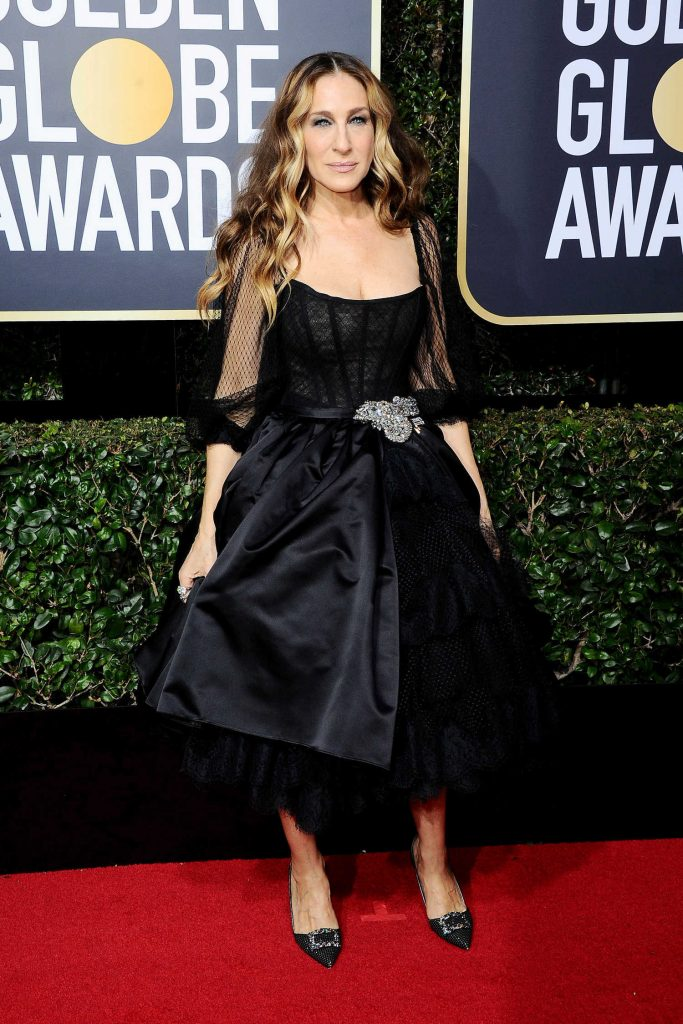 Sarah Jessica Parker at the 75th Annual Golden Globe Awards in Beverly Hills-2