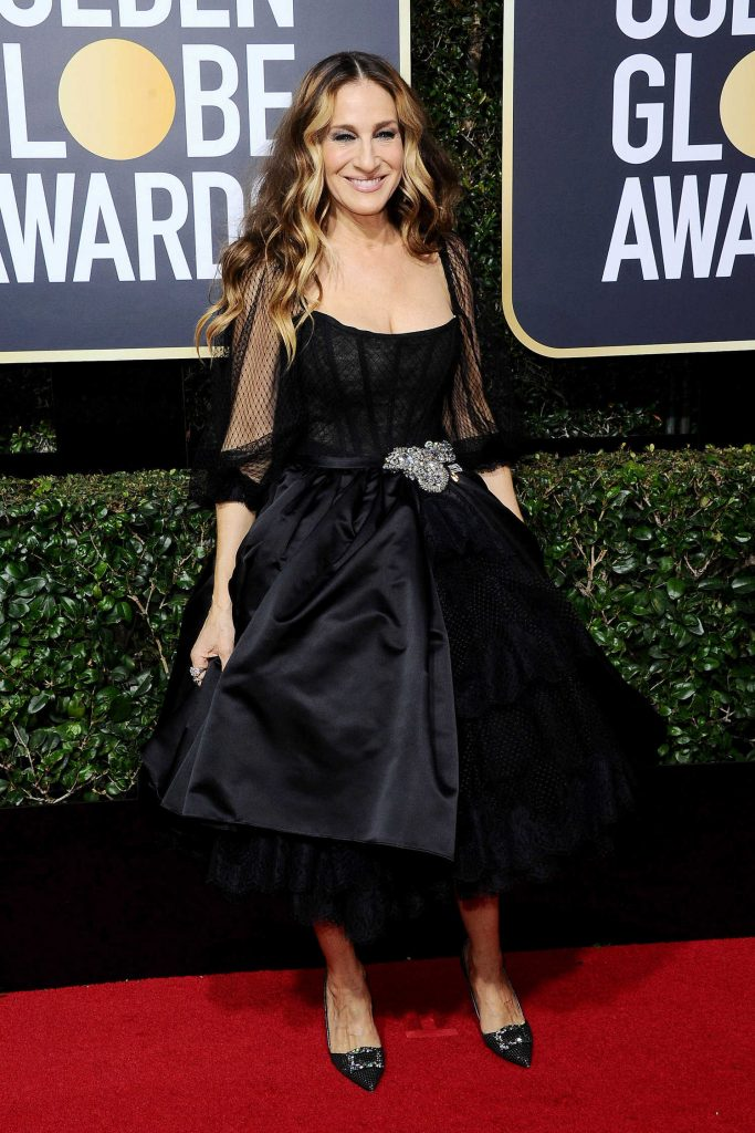 Sarah Jessica Parker at the 75th Annual Golden Globe Awards in Beverly Hills-3
