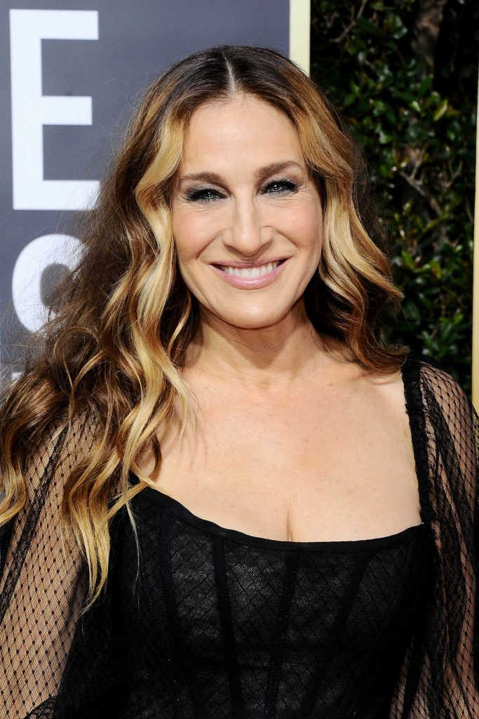Sarah Jessica Parker at the 75th Annual Golden Globe Awards in Beverly Hills-4