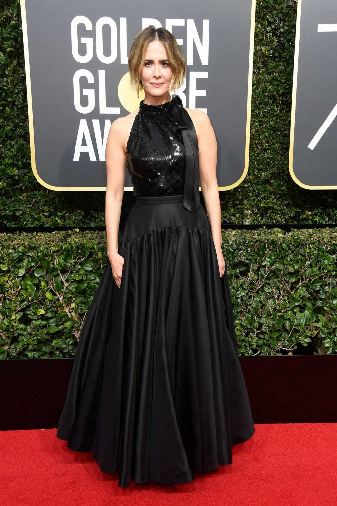 Sarah Paulson at the 75th Annual Golden Globe Awards in Beverly Hills-1