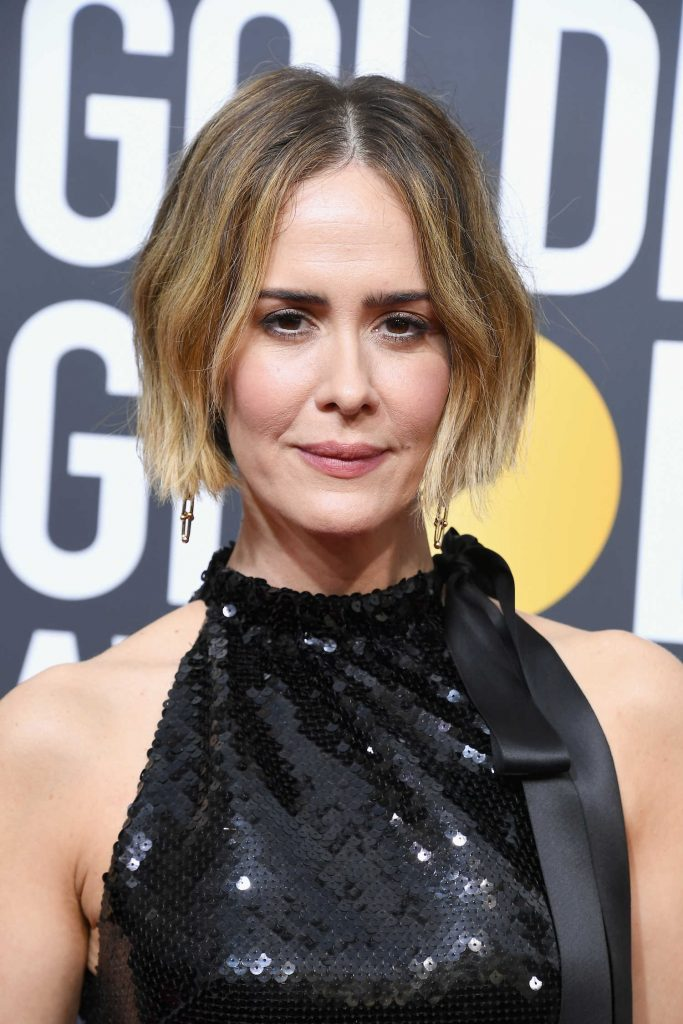 Sarah Paulson at the 75th Annual Golden Globe Awards in Beverly Hills-4
