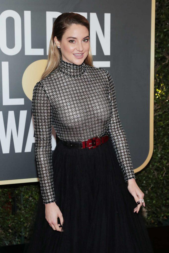 Shailene Woodley at the 75th Annual Golden Globe Awards in Beverly Hills-4