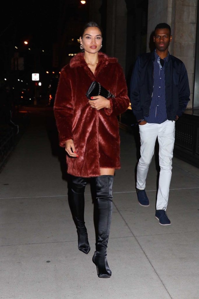 Shanina Shaik Leaves the Republic Records Party in New York City-2