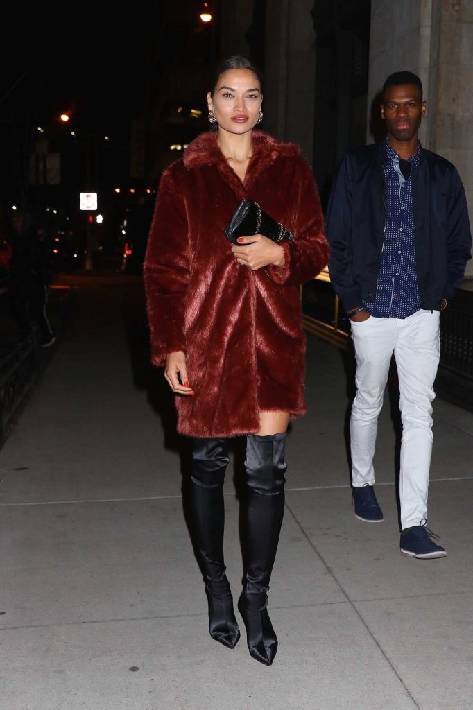 Shanina Shaik Leaves the Republic Records Party in New York City-3