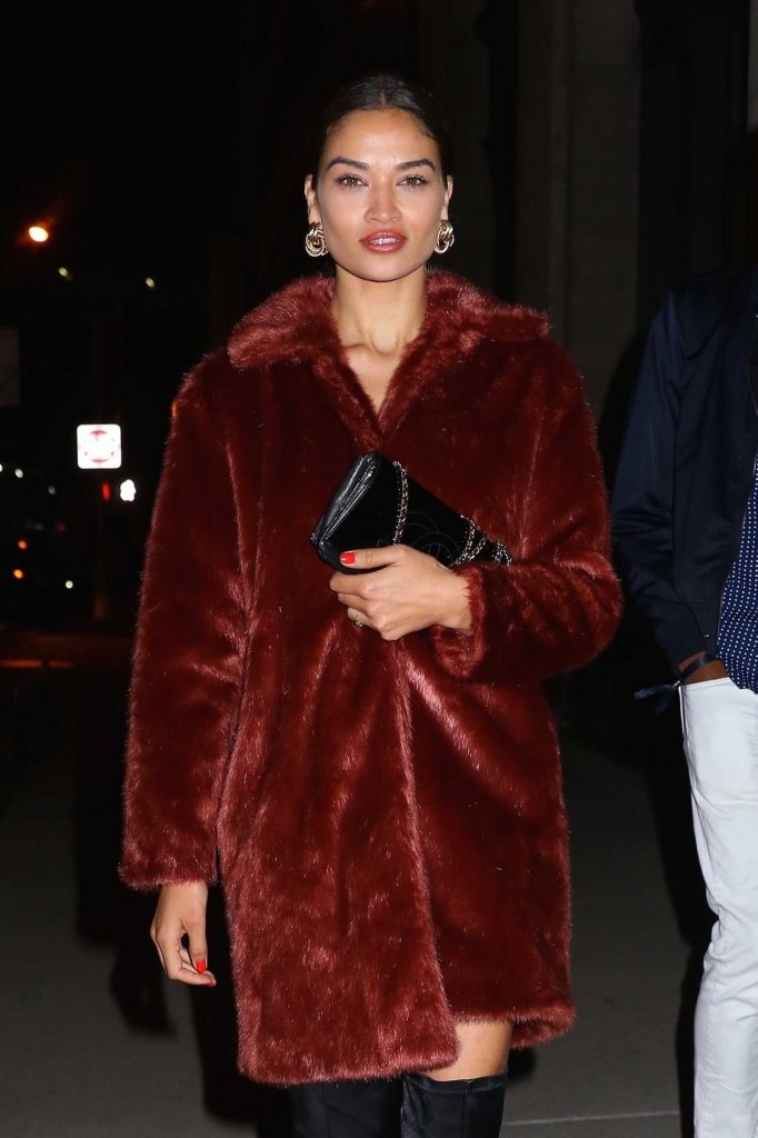 Shanina Shaik Leaves the Republic Records Party in New York City-4